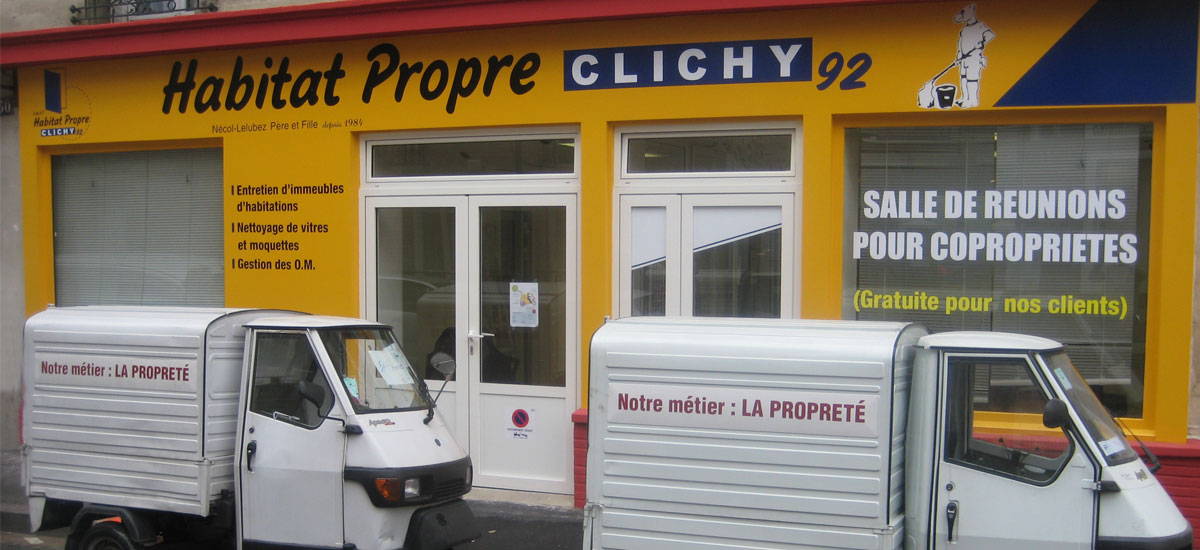 entretien d'immeubles d'habitation à clichy 92